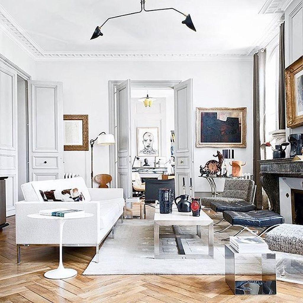 Nice Eclectic Parisian Home Decoration Ideas 22