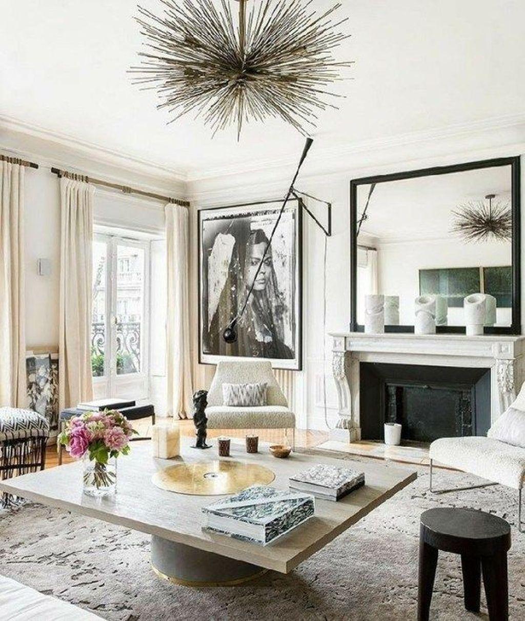 Nice Eclectic Parisian Home Decoration Ideas 30