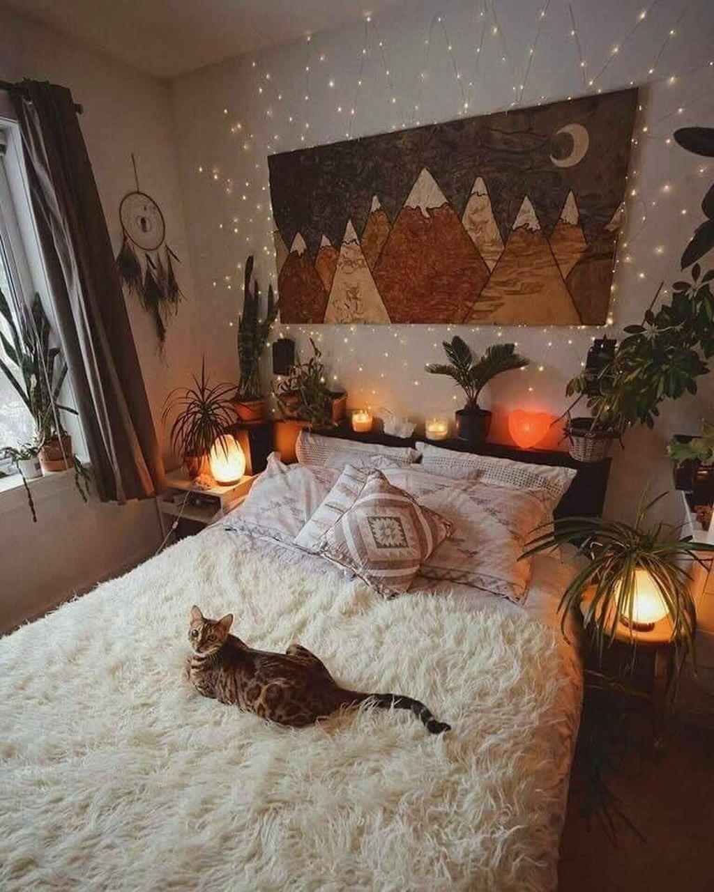 Nice Fall Bedroom Decor Ideas 01