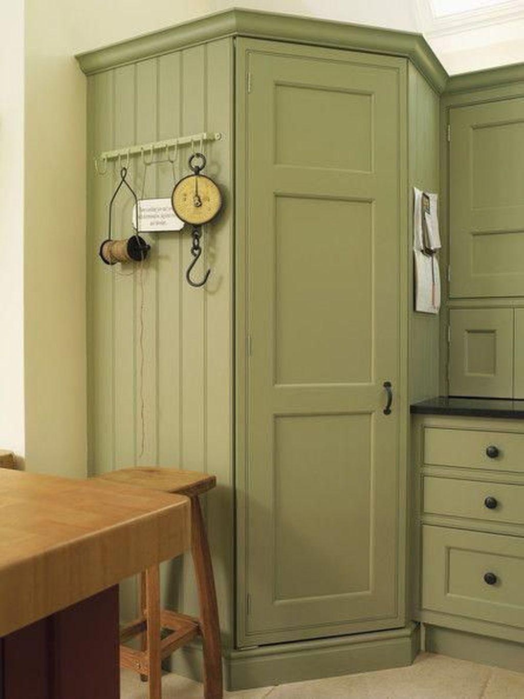 Nice Sage Kitchen Cabinets Design Ideas 05