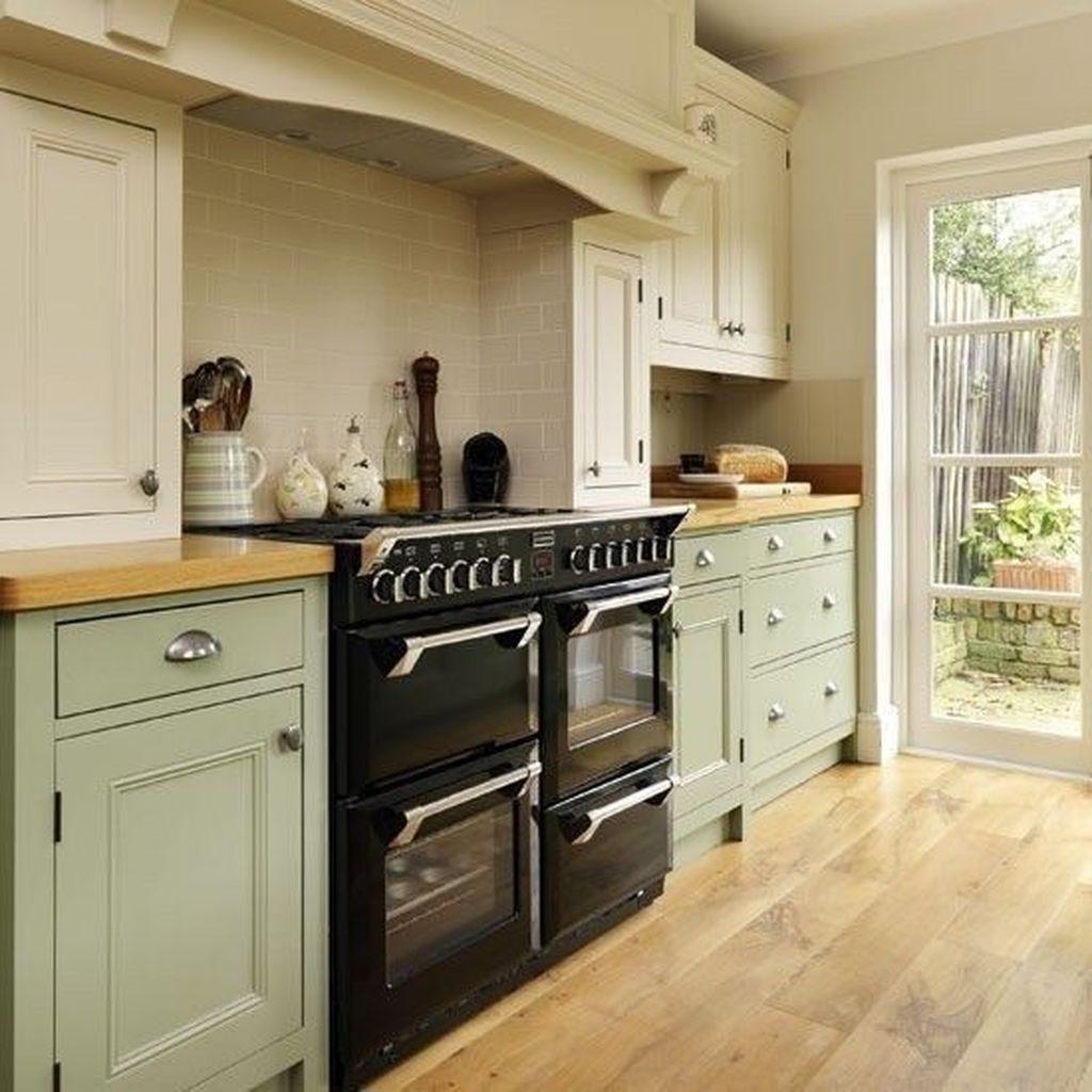 Nice Sage Kitchen Cabinets Design Ideas 06