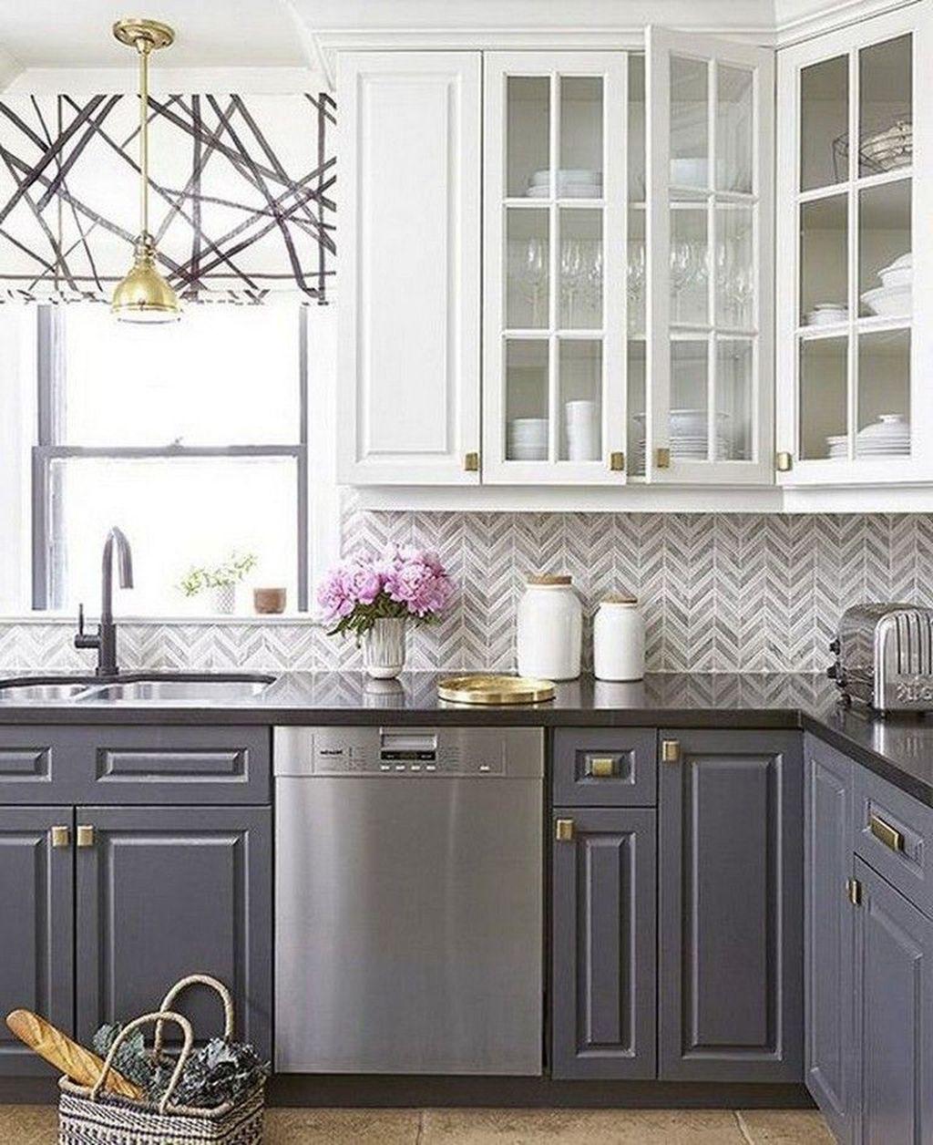 Nice Sage Kitchen Cabinets Design Ideas 09