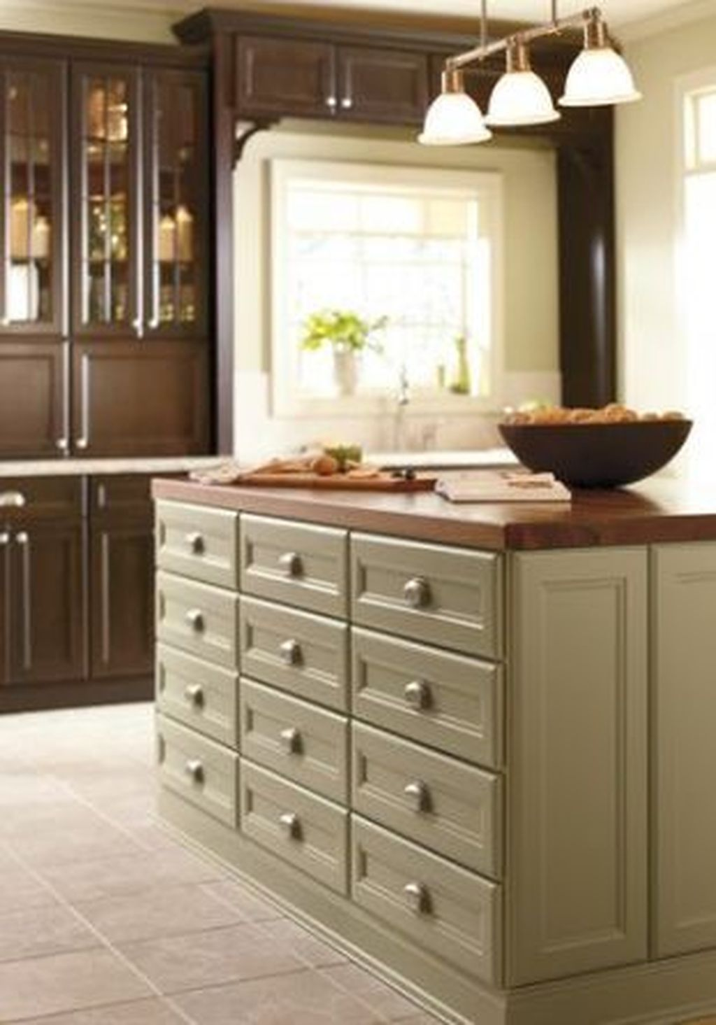 Nice Sage Kitchen Cabinets Design Ideas 12
