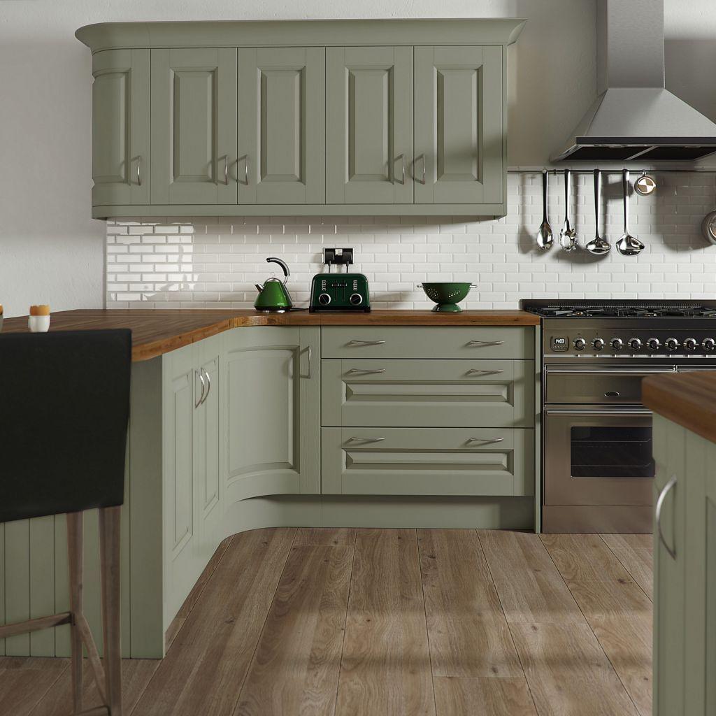 Nice Sage Kitchen Cabinets Design Ideas 16
