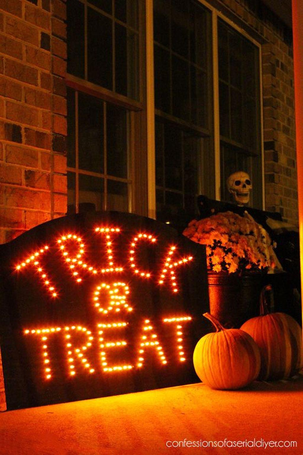 Nice Spooky Halloween Decoration Ideas 15