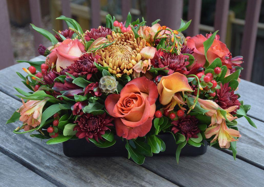 Nice Thanksgiving Flower Arrangements Design Ideas 05