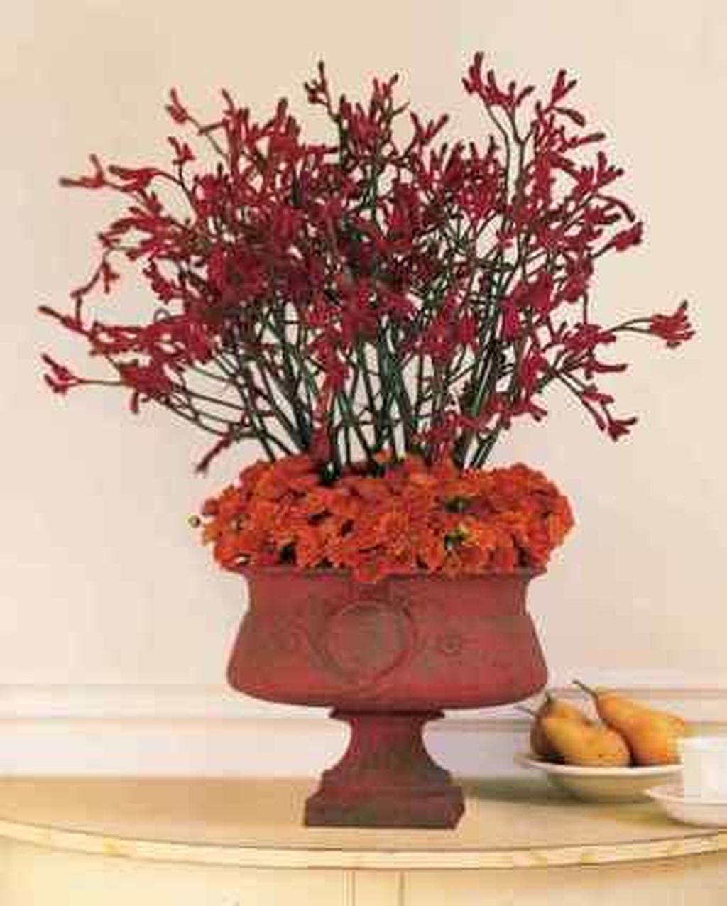 Nice Thanksgiving Flower Arrangements Design Ideas 13