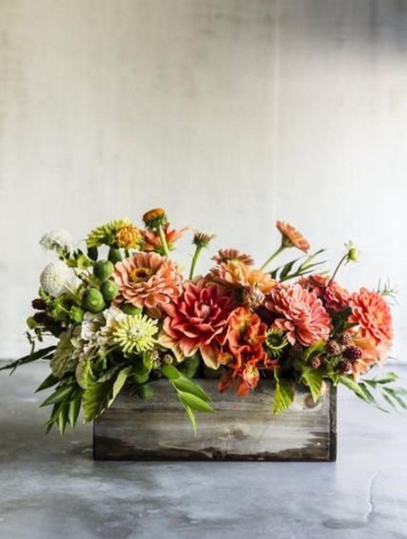 Nice Thanksgiving Flower Arrangements Design Ideas 23