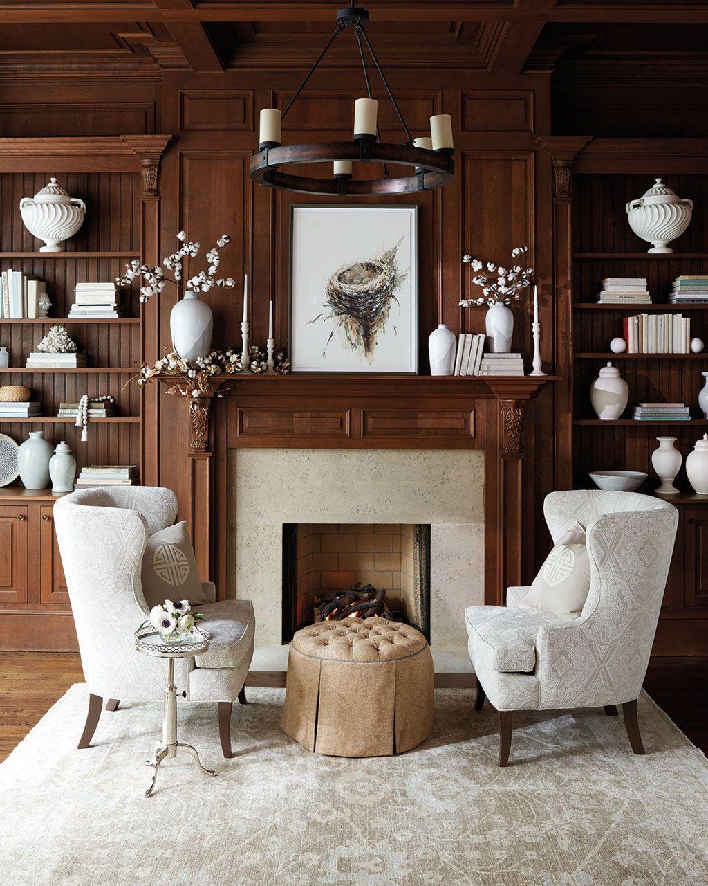 Popular Fall Fireplace Decoration Ideas 05