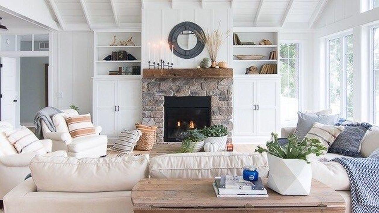 Popular Fall Fireplace Decoration Ideas 21