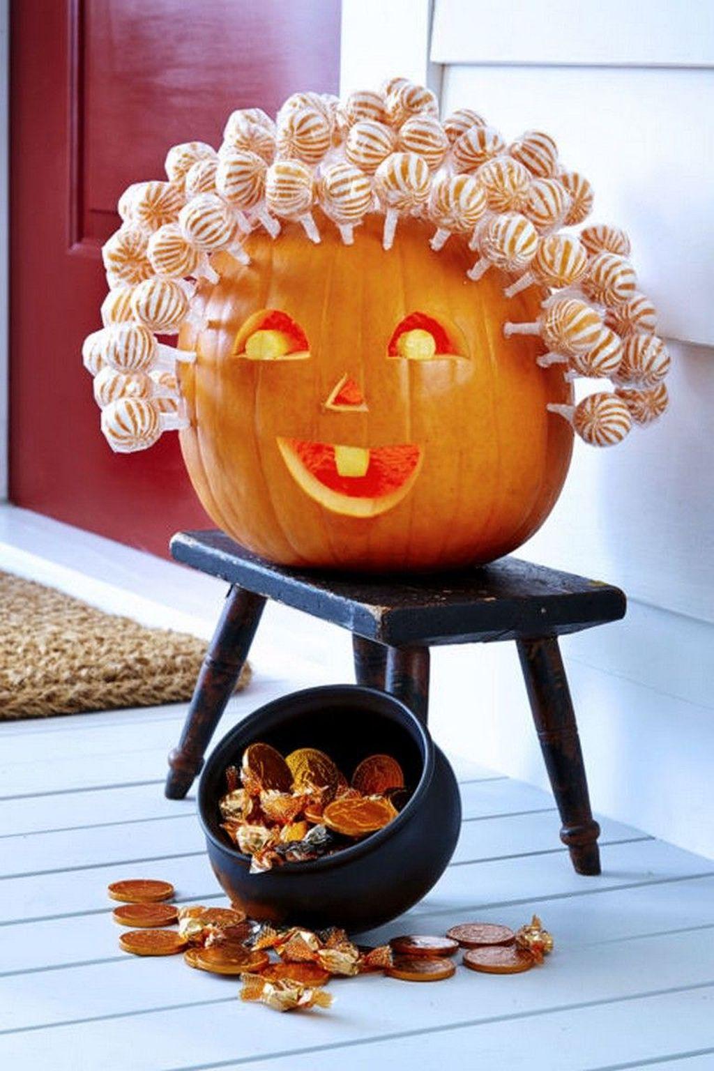 Popular Halloween Pumpkin Design Ideas 04