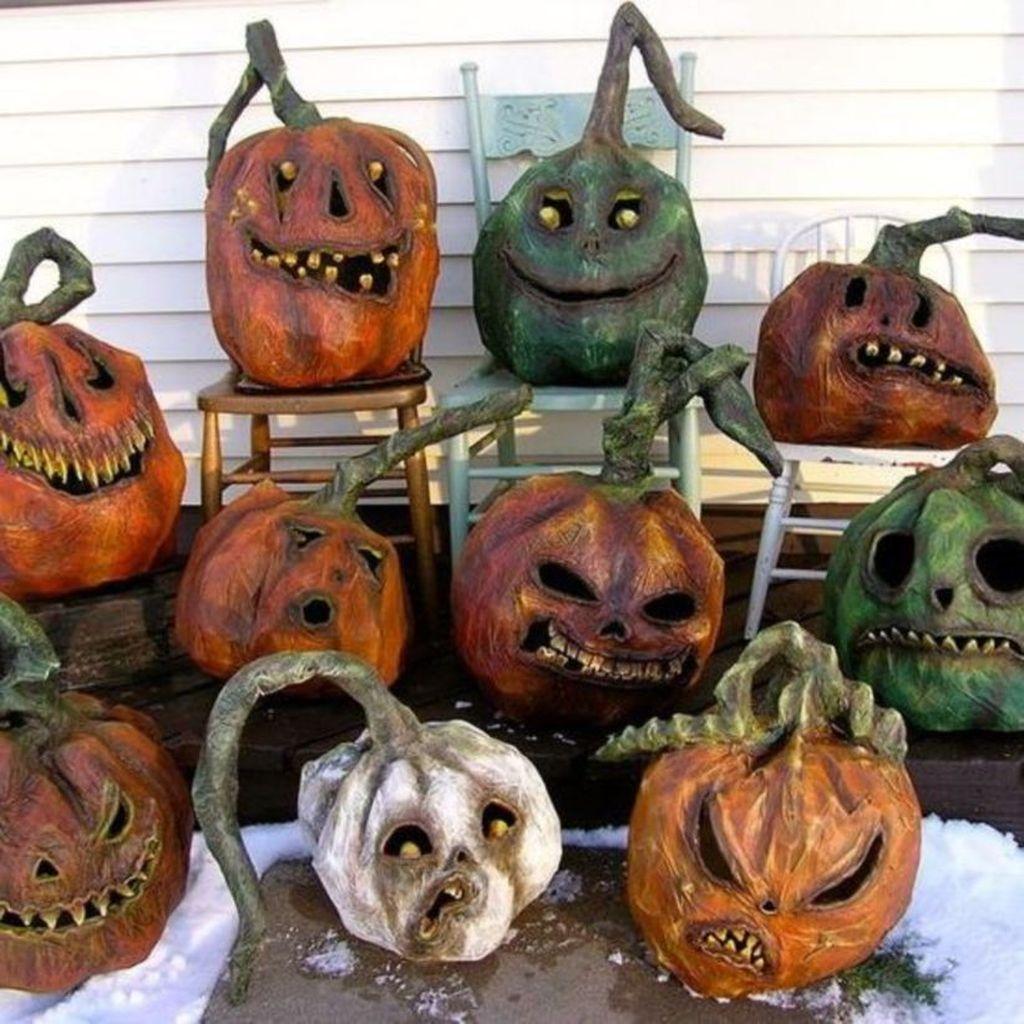 Popular Halloween Pumpkin Design Ideas 06