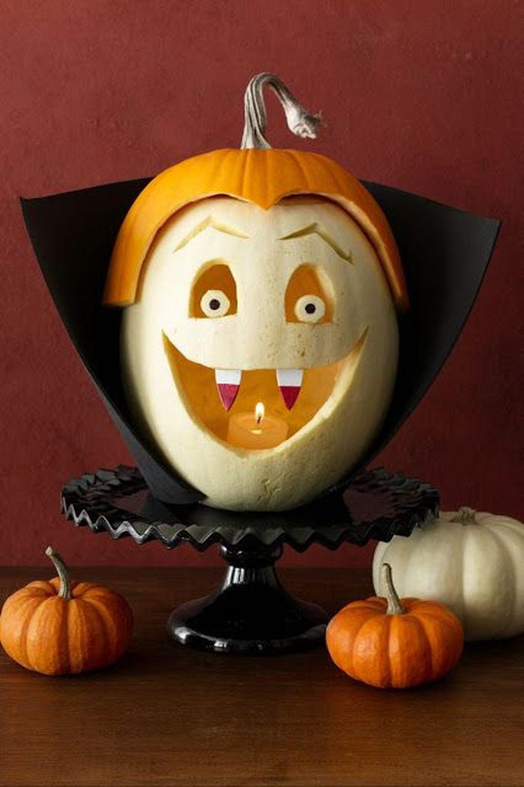 Popular Halloween Pumpkin Design Ideas 09