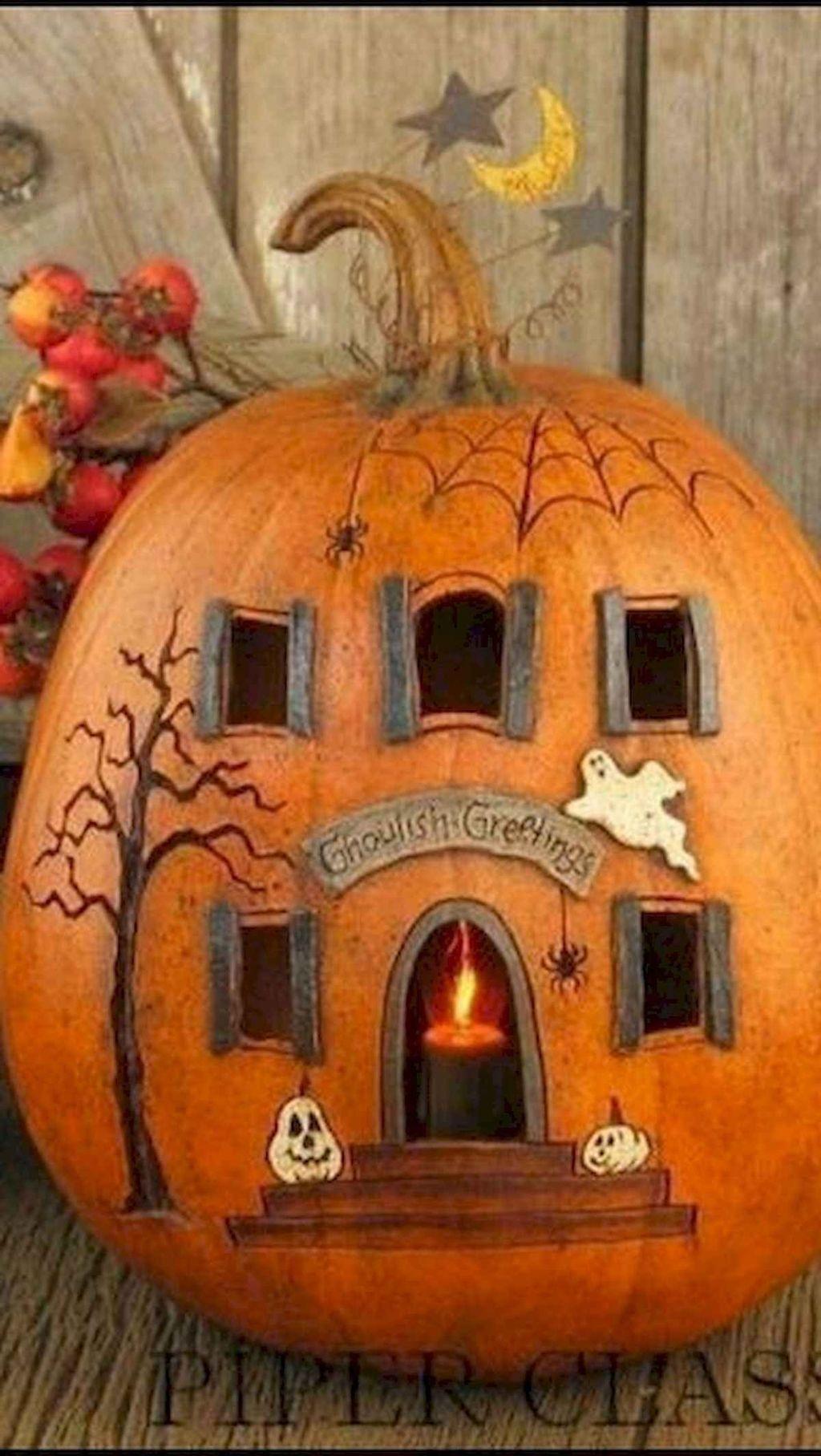 Popular Halloween Pumpkin Design Ideas 14