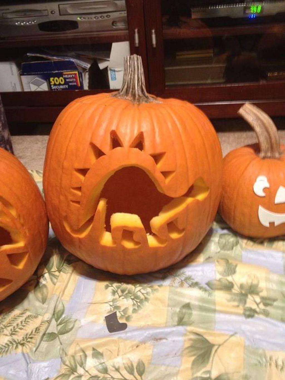 Popular Halloween Pumpkin Design Ideas 19