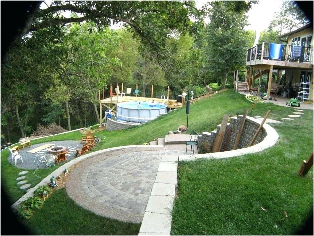 32 Popular Terraced Landscaping Slope Yard Design Ideas ... on Sloping Garden Ideas id=54370