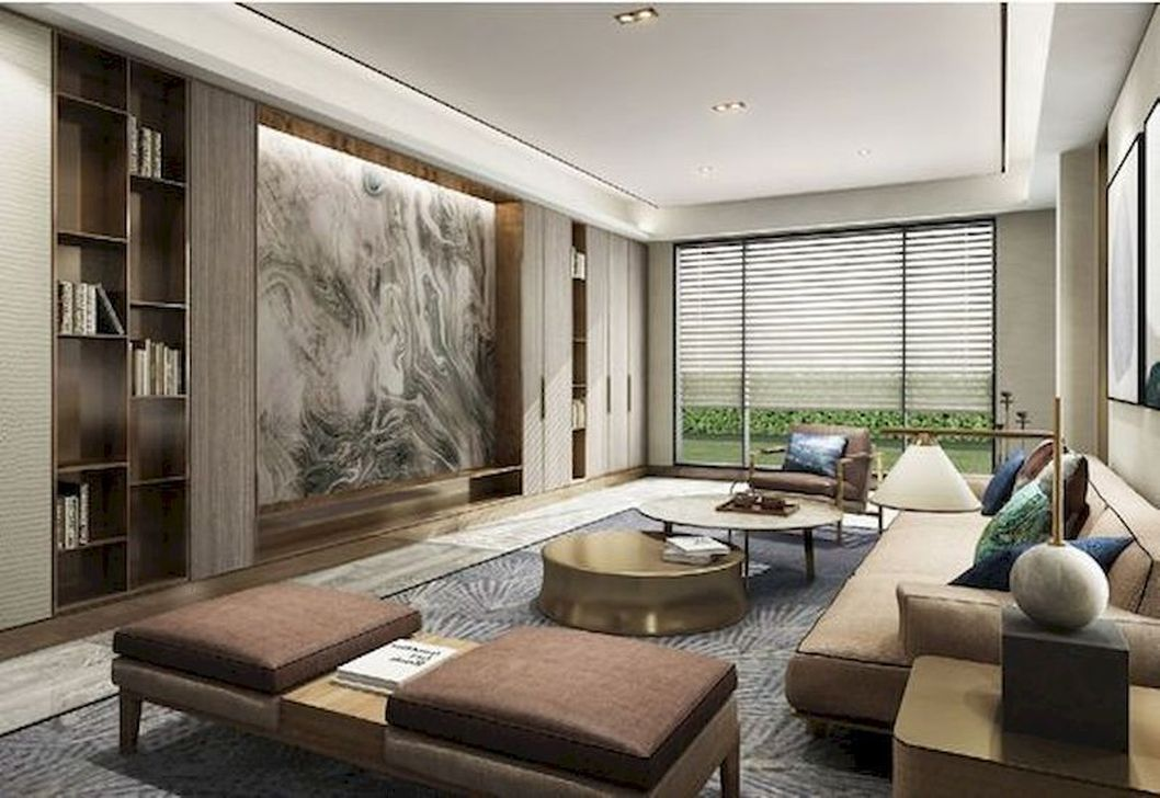 Stunning Farmhouse Living Room Decorating Ideas 20