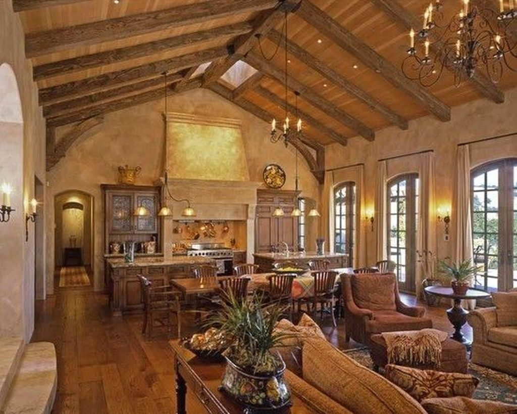 Stunning Italian Rustic Decor Ideas For Your Living Room 15