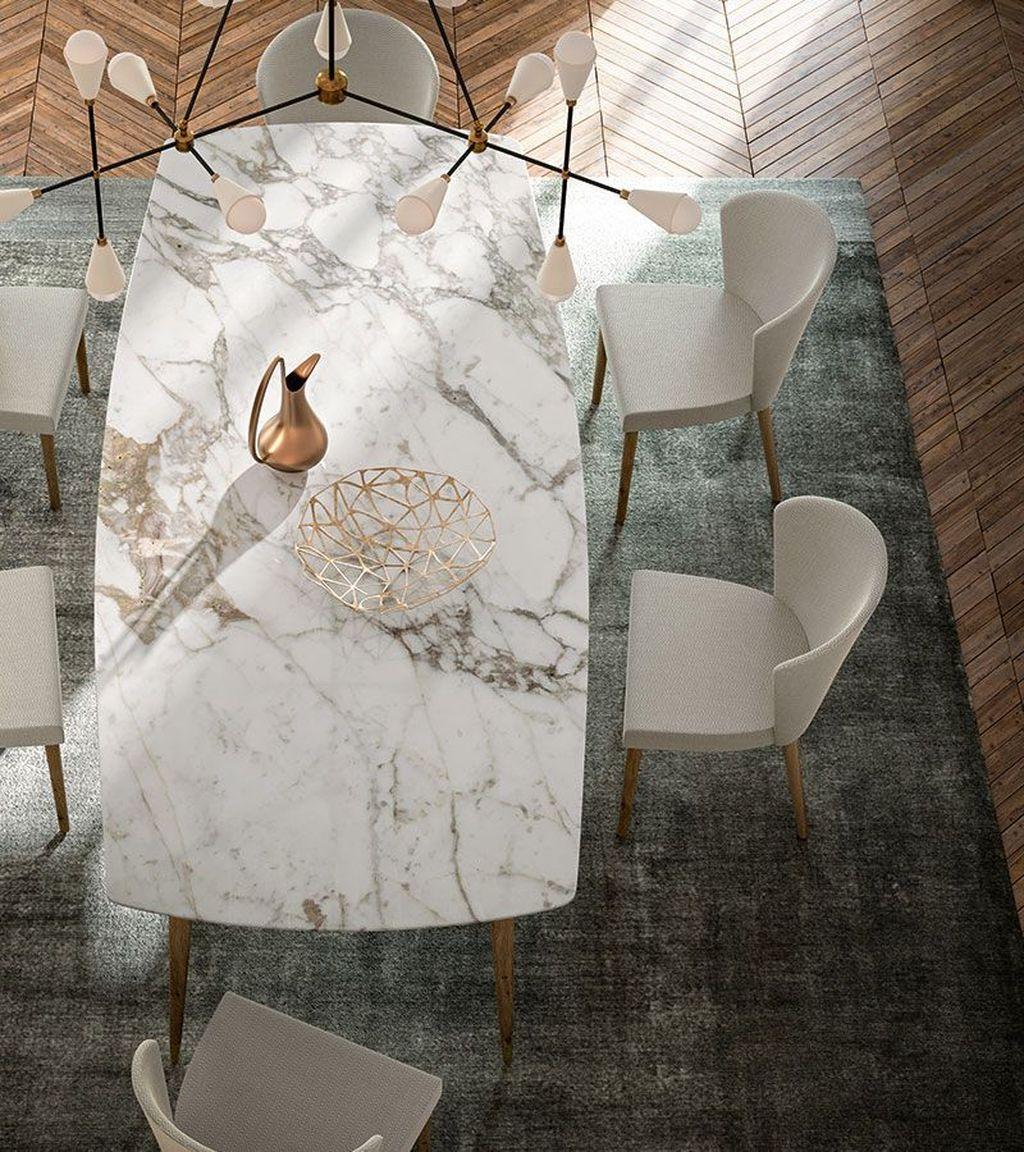 Stunning Marble Room Decor Ideas 07