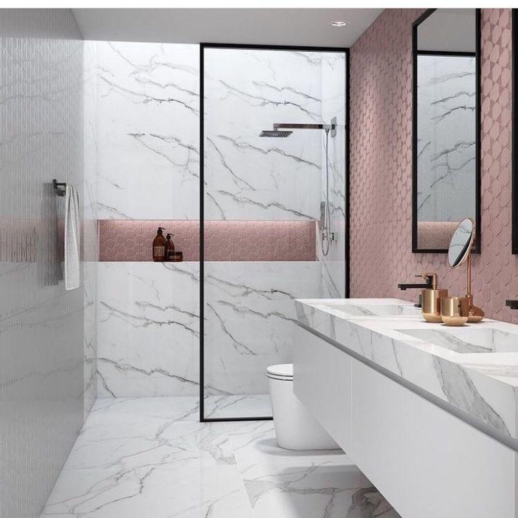 Stunning Marble Room Decor Ideas 17