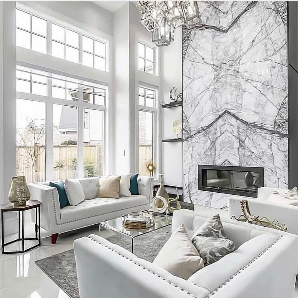 33 Stunning Marble Room Decor Ideas - MAGZHOUSE