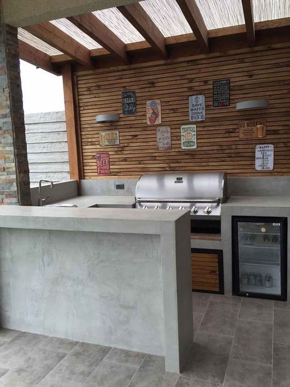 Stunning Outdoor Kitchen Design Ideas For Perfect Summer 16