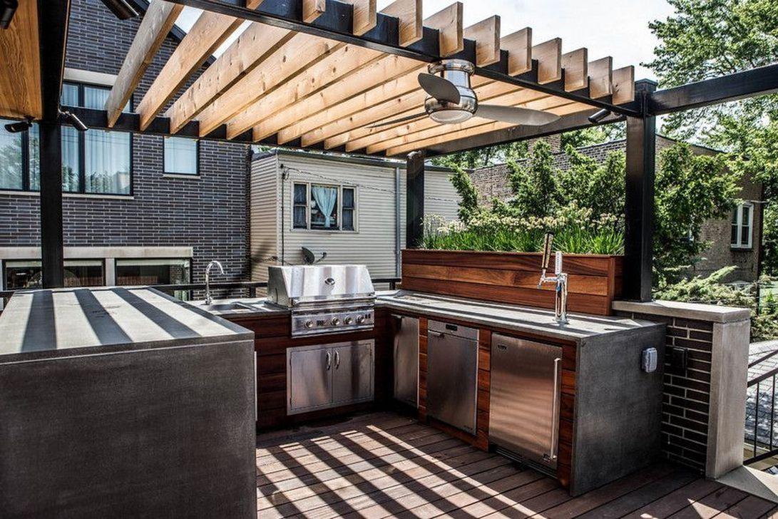 Stunning Outdoor Kitchen Design Ideas For Perfect Summer 21