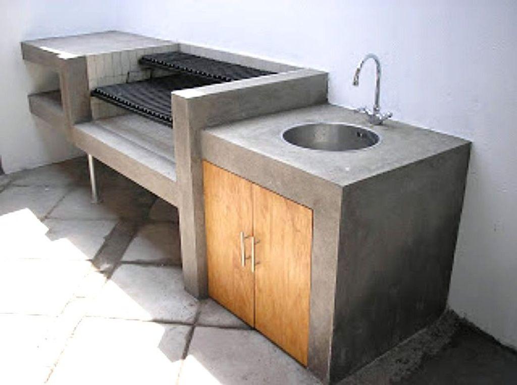 Stunning Outdoor Kitchen Design Ideas For Perfect Summer 25