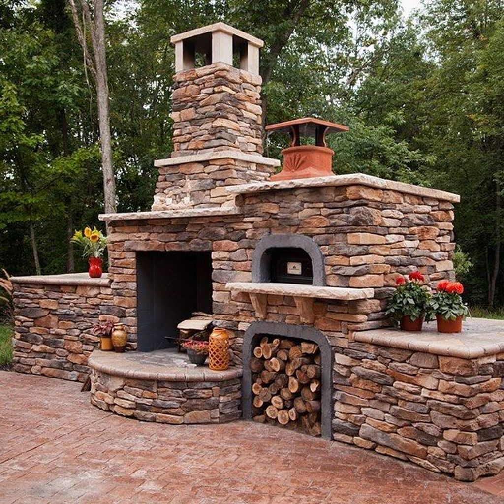 Stunning Outdoor Kitchen Design Ideas For Perfect Summer 29