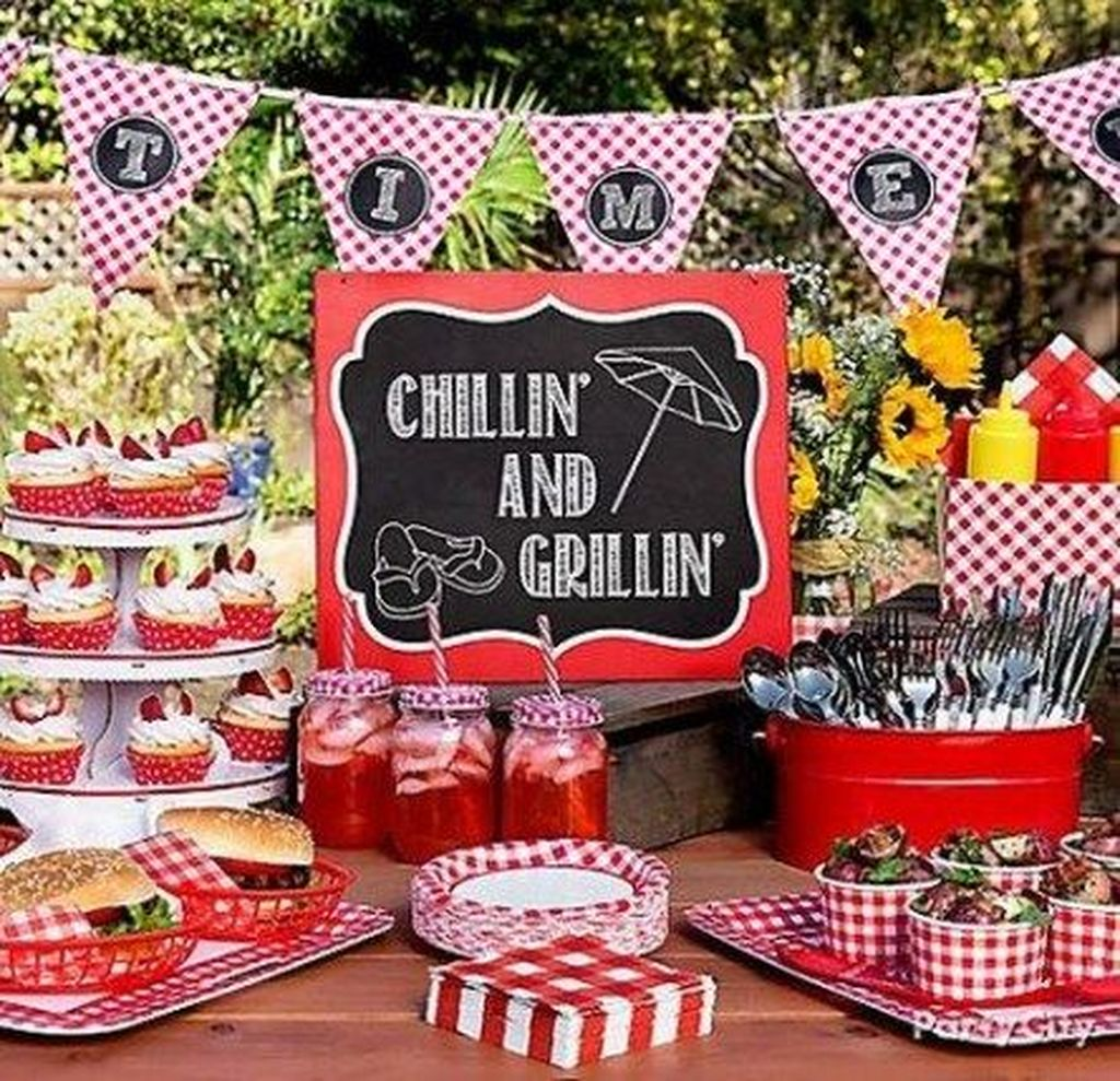 The Best Backyard Summer Party Decorating Ideas 03