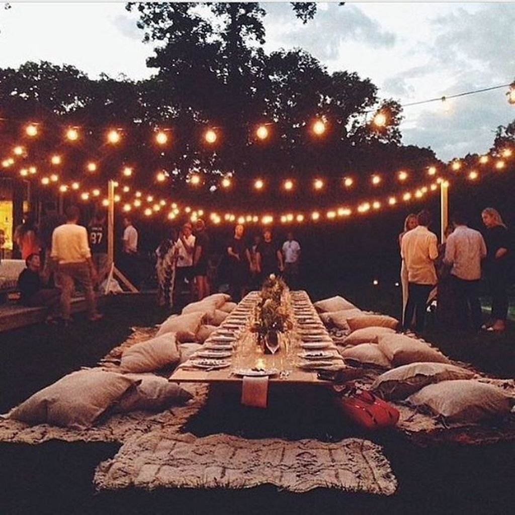 The Best Backyard Summer Party Decorating Ideas 33