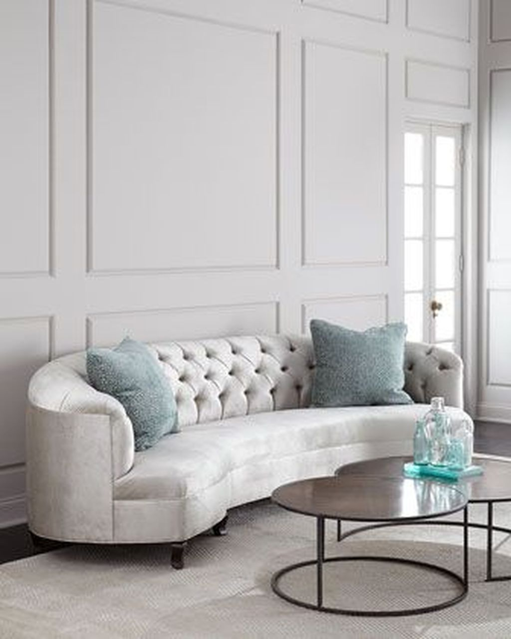 The Best Curved Sofa For Living Room Layout Ideas 16