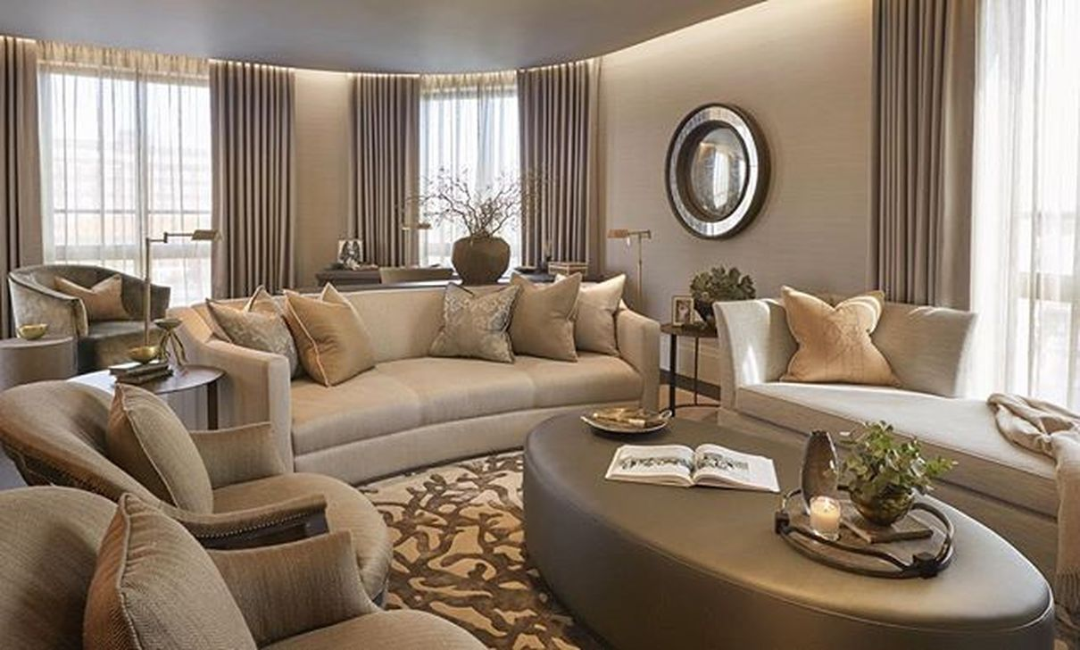 The Best Curved Sofa For Living Room Layout Ideas 17