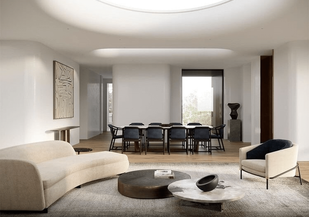 The Best Curved Sofa For Living Room Layout Ideas 25