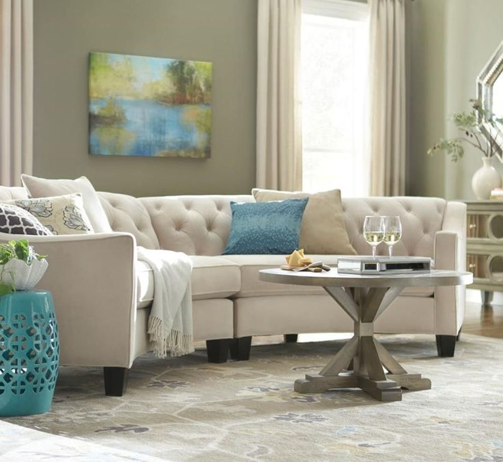 The Best Curved Sofa For Living Room Layout Ideas 33