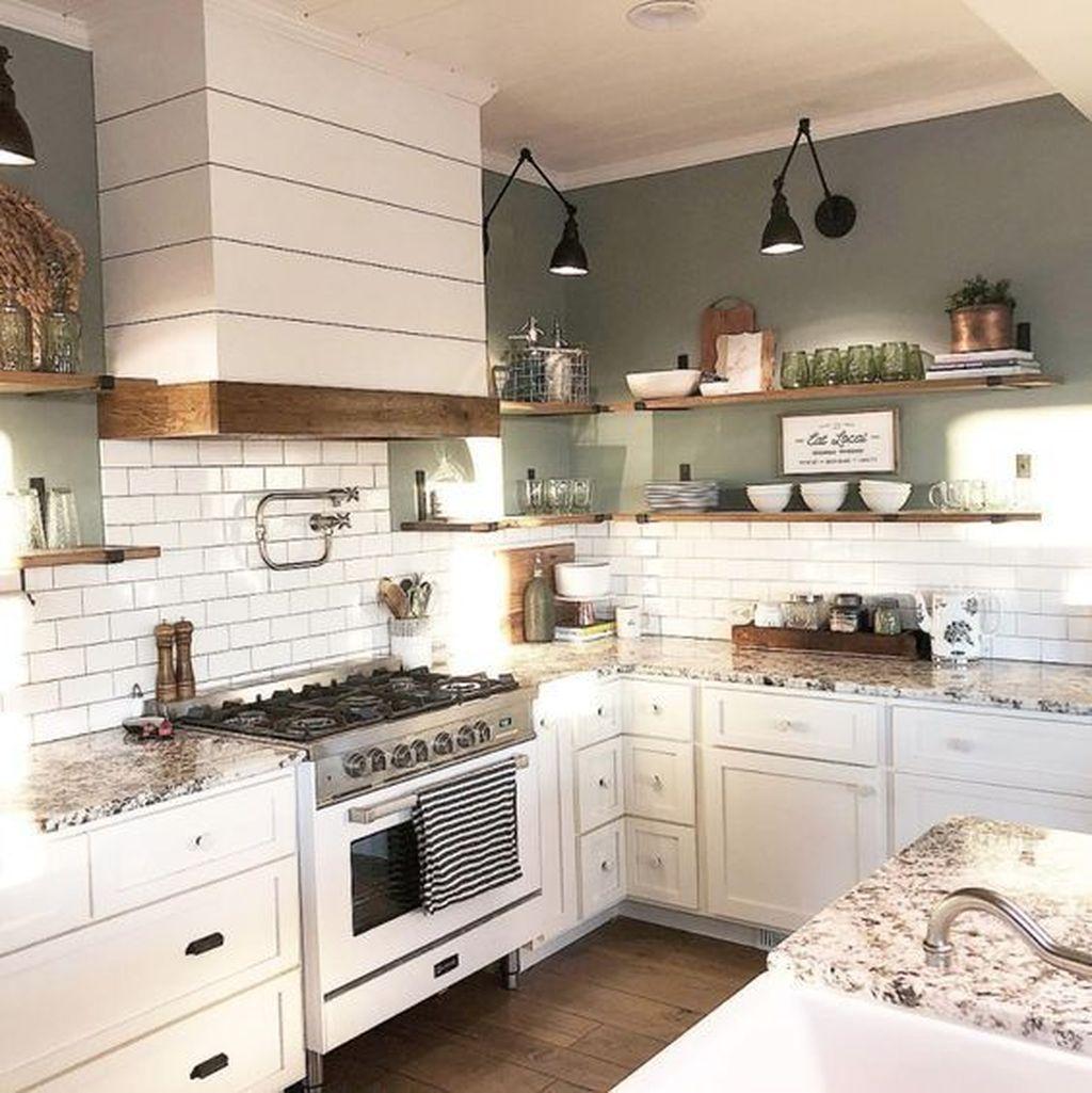 The Best Farmhouse Kitchen Decor Ideas 18