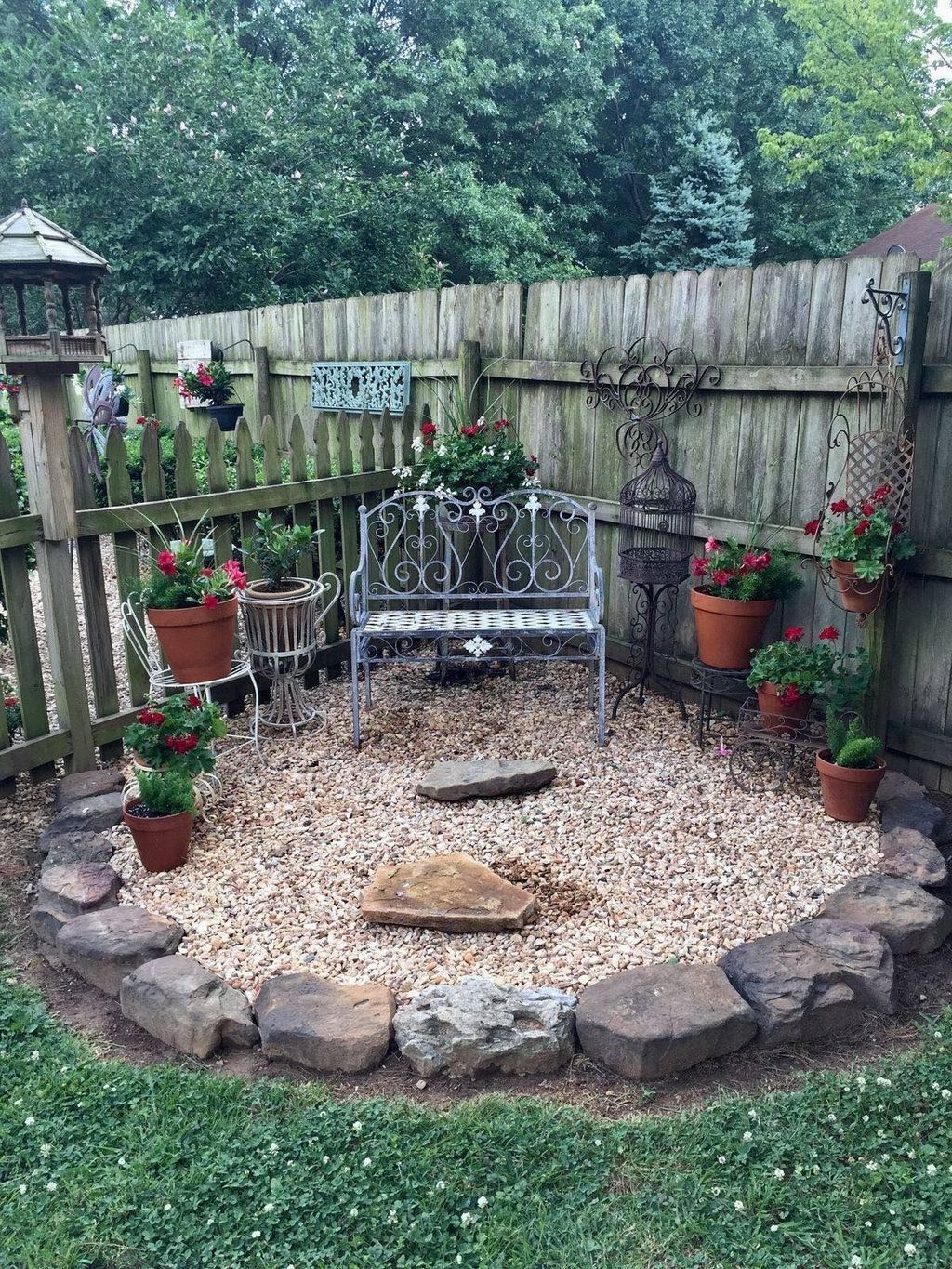 The Best Front Yard Landscaping Ideas Sitting Area 01