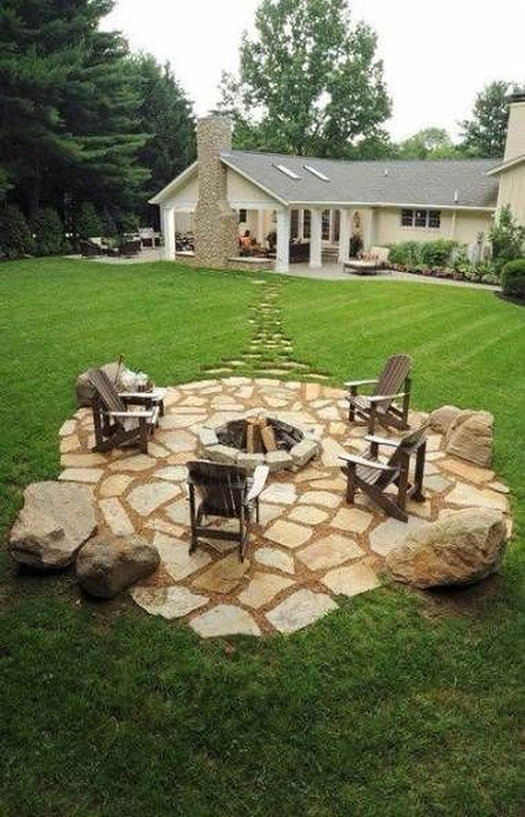 The Best Front Yard Landscaping Ideas Sitting Area 13