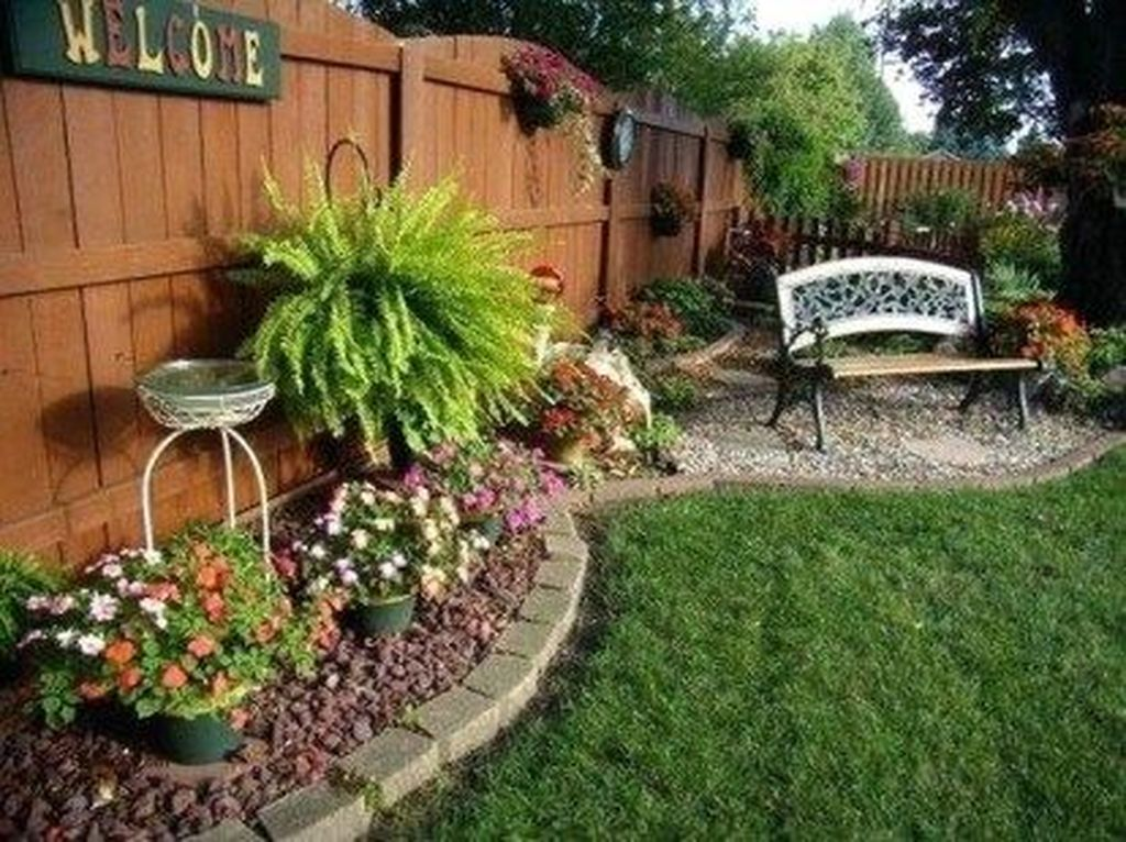 The Best Front Yard Landscaping Ideas Sitting Area 16