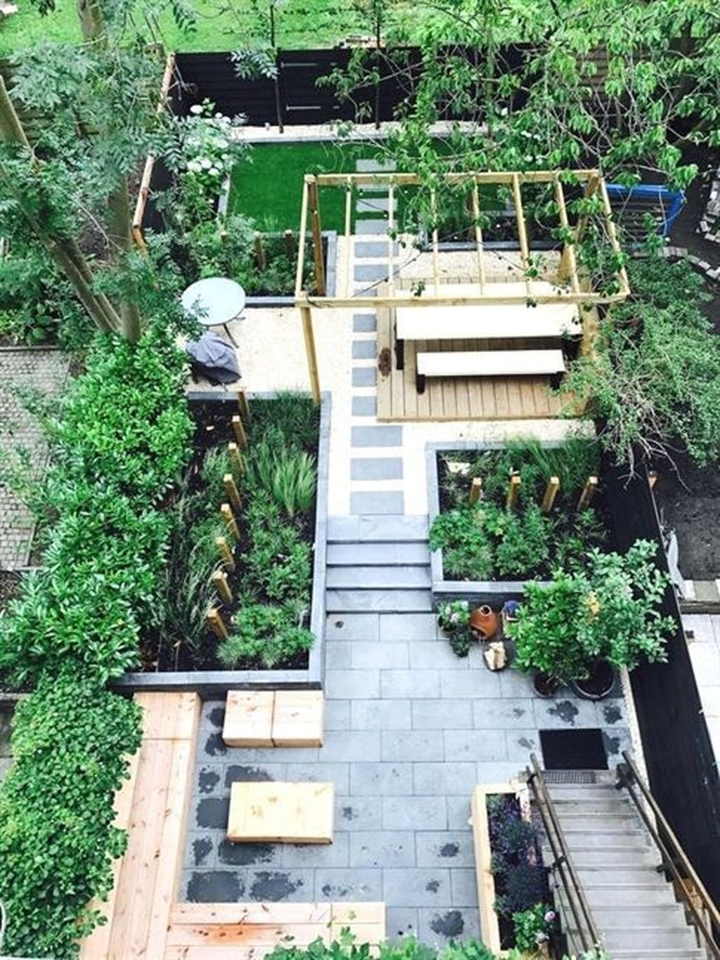 The Best Urban Garden Design Ideas For Your Backyard 31