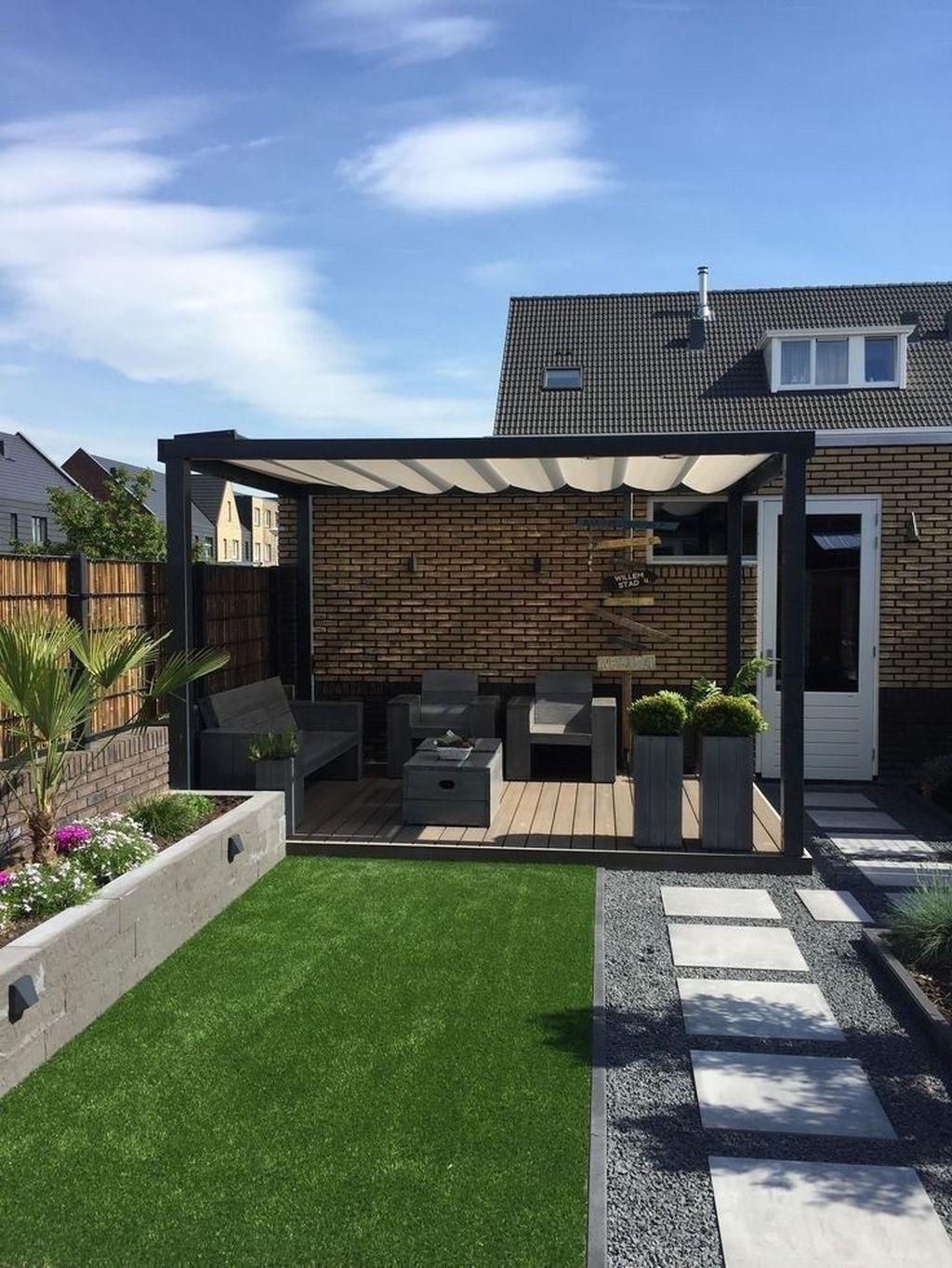 Wonderful Backyard Patio Design Ideas For Outdoor Decor 03