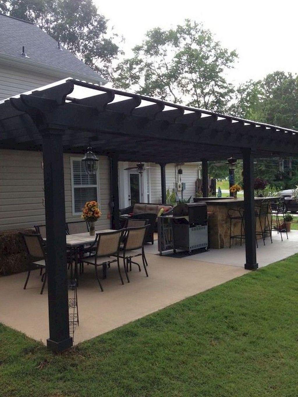 Wonderful Backyard Patio Design Ideas For Outdoor Decor 08