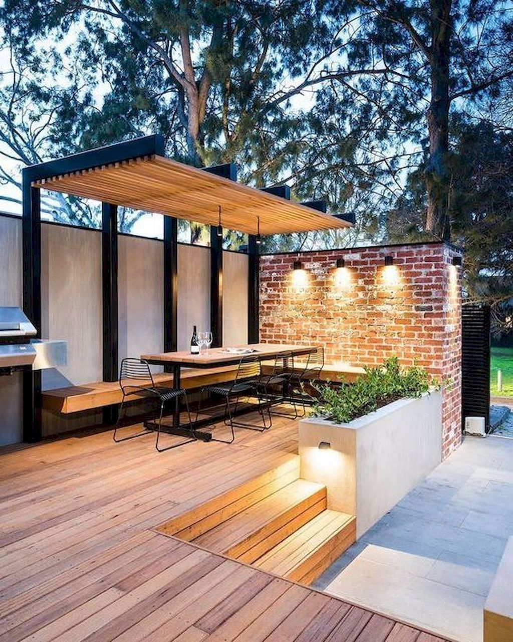 Wonderful Backyard Patio Design Ideas For Outdoor Decor 25