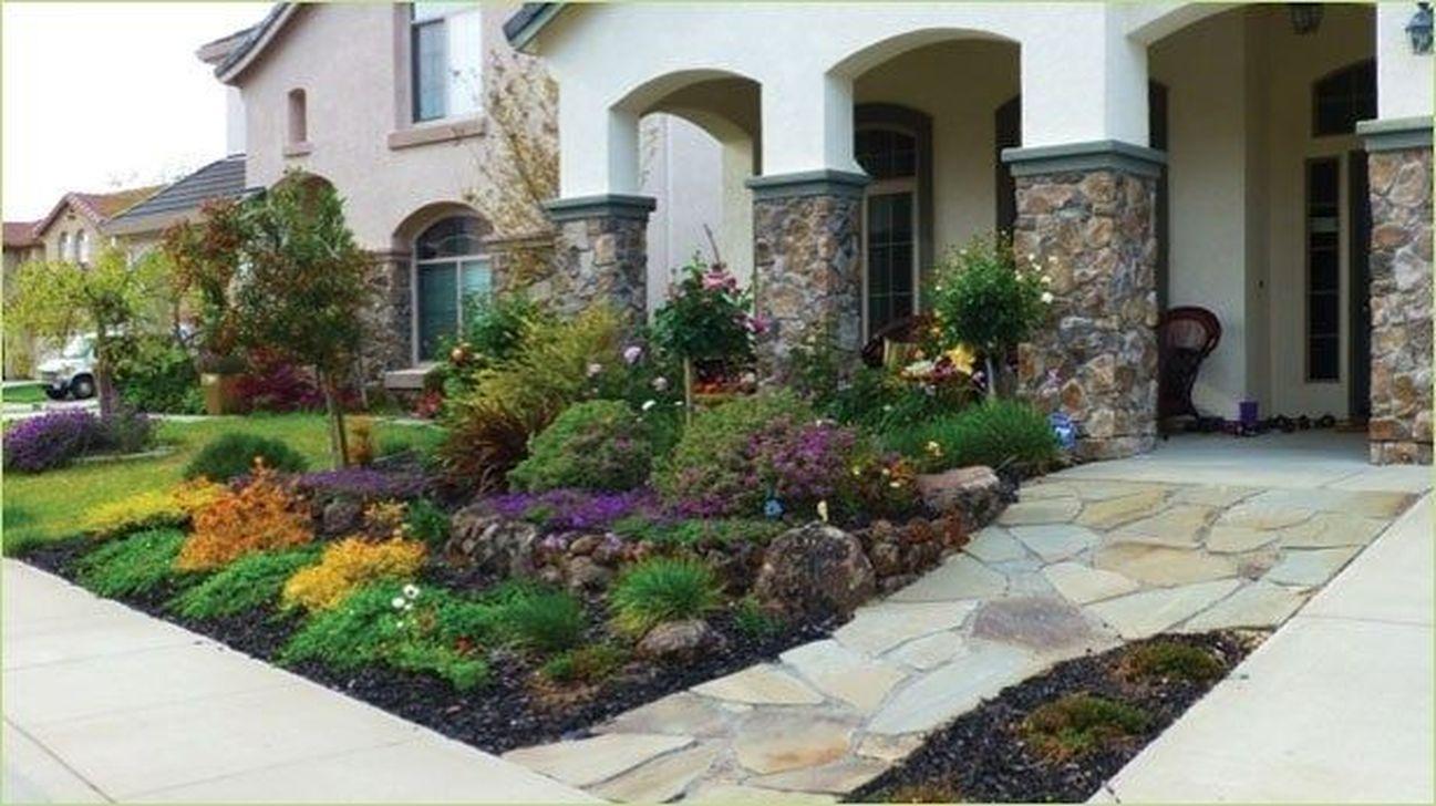Wonderful Yard No Grass Design Ideas 06