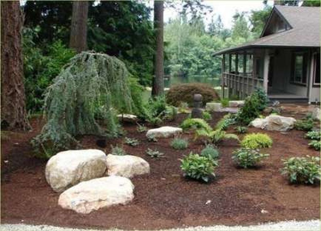 Wonderful Yard No Grass Design Ideas 17