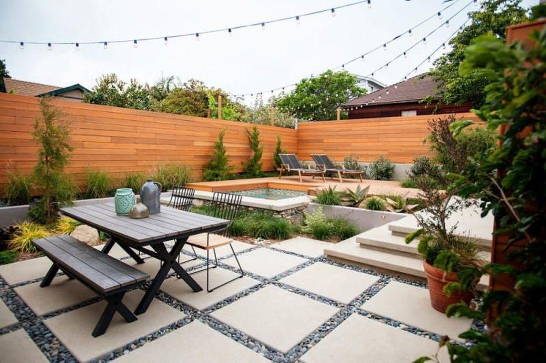 Wonderful Yard No Grass Design Ideas 24