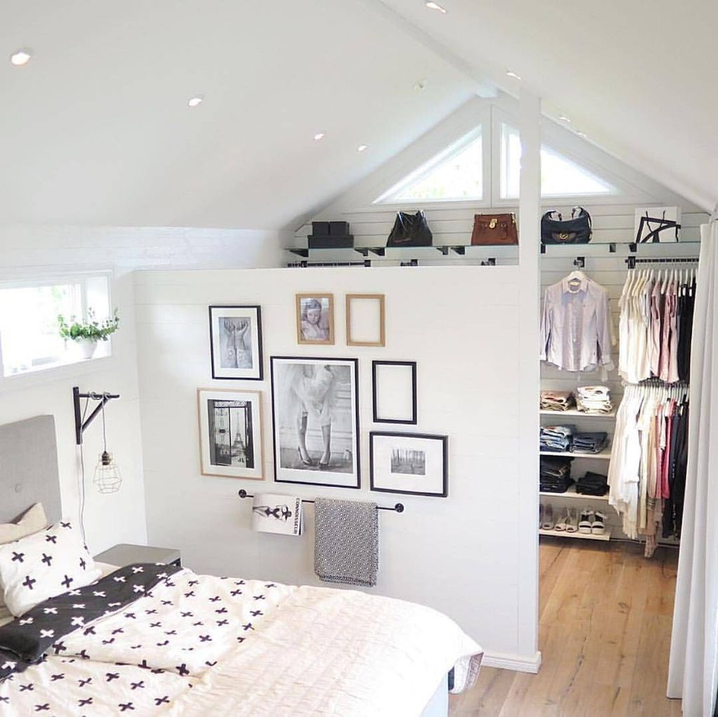 Amazing Attic Bedroom Design Ideas That You Will Like 25