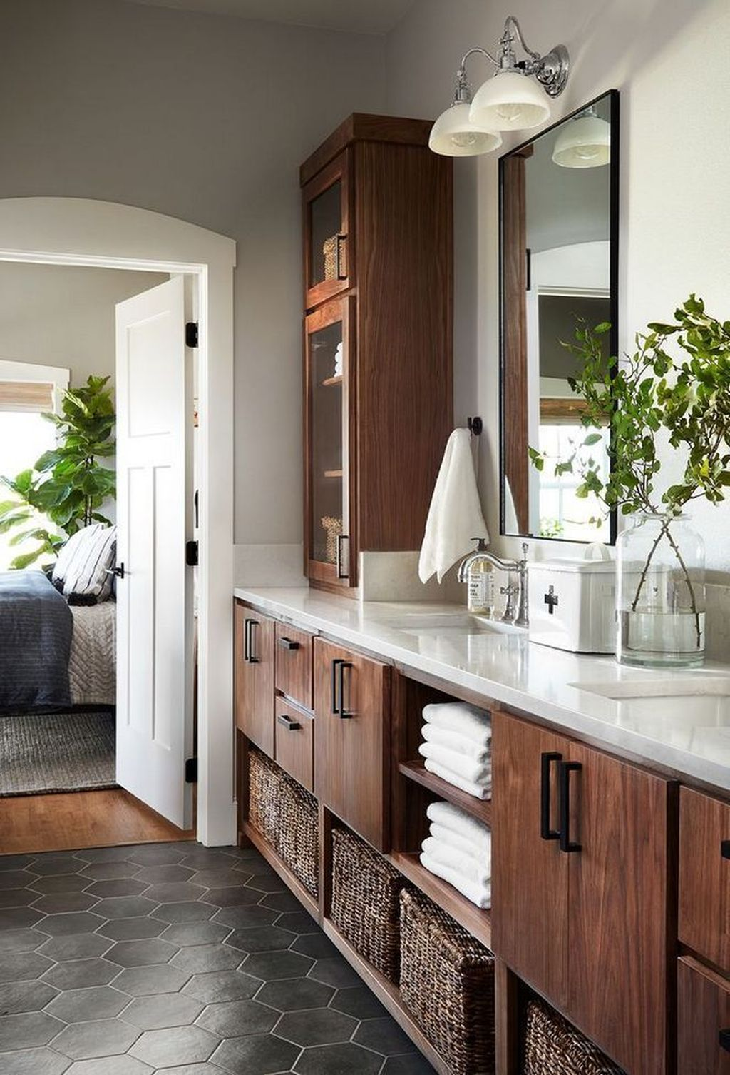 Amazing Farmhouse Bathroom Decor Ideas 30