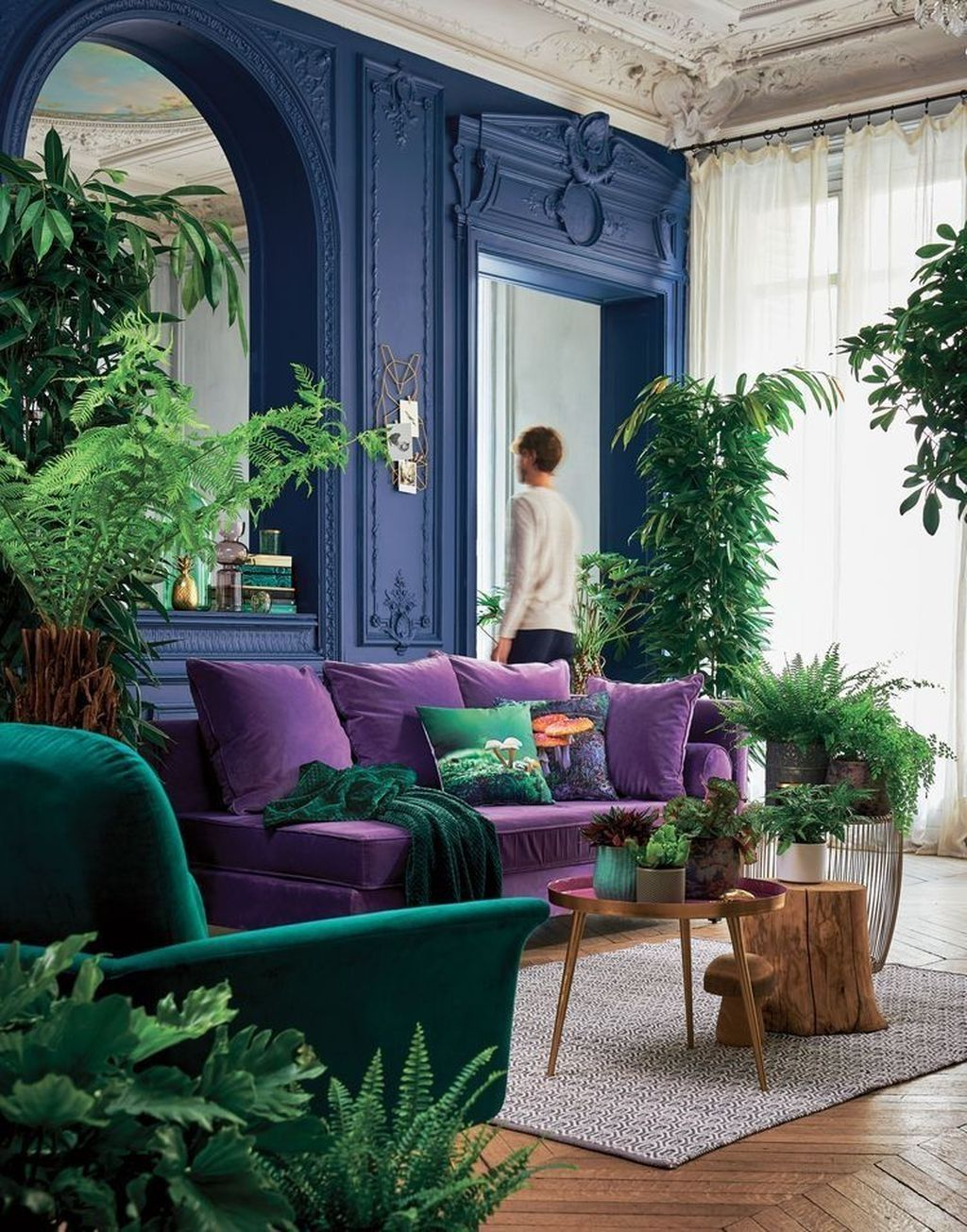 Amazing Vintage Living Room Decor Ideas 09