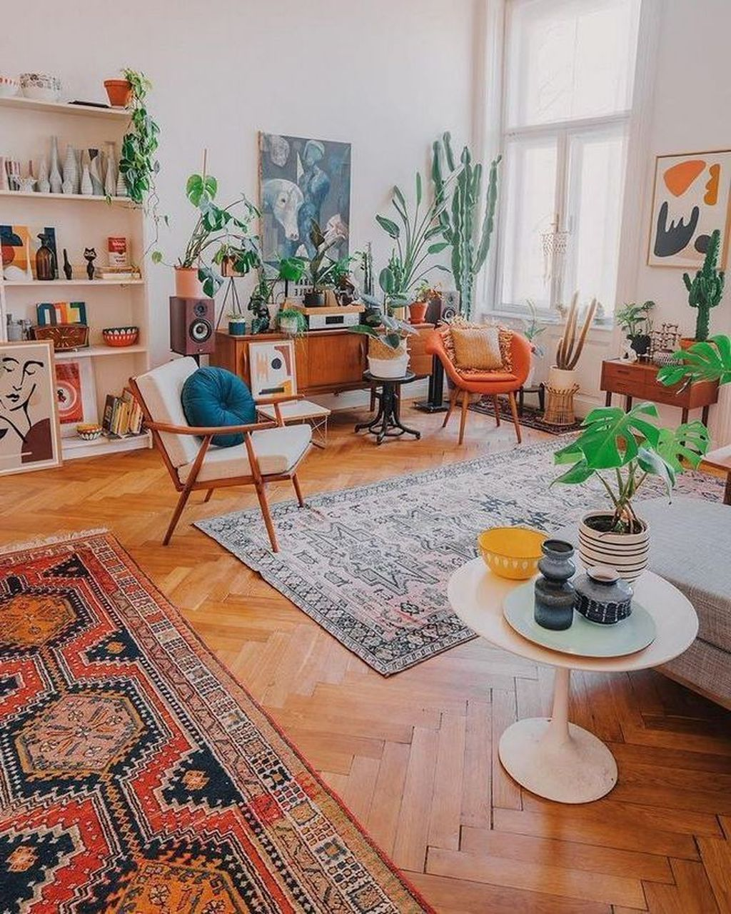 Amazing Vintage Living Room Decor Ideas 22